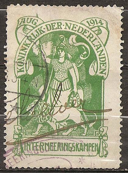 Holanda Nederland Catálogo $$$ Timbre De Franchise Nº1