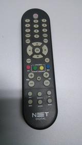 Controle Remoto Receptor Net Digital Black