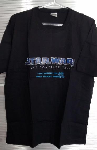 Star Wars - The Complete Saga - Camisa Tamanho G - Preta