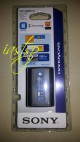 Bateria Sony Np-qm91d Com Mostrador De Carga Nova Lacrada