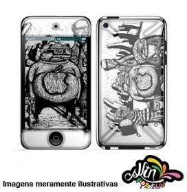 Adesivo 3d Skin Para iPod Touch 4 Bus