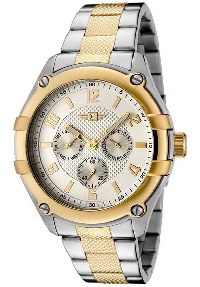 Relógio Invicta 43659-002 ! Novo! Na Caixa! Gold 18k