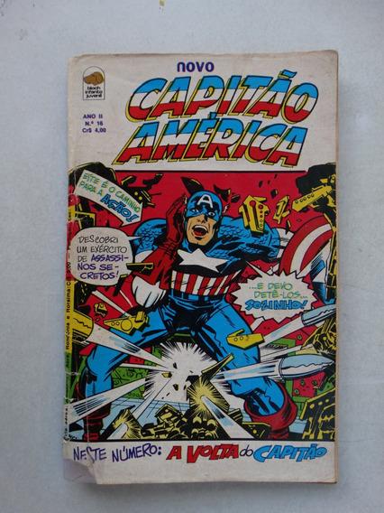 Capitão América Nº 16! Bloch Ago 1976! Leia Anuncio!