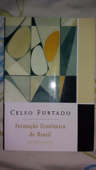 Livro Formação Econômica Do Brasil - Celso Furtado.