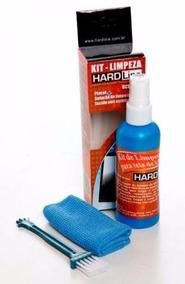 Kit Limpa Tela 100ml Hard Line 3 Em 1 Com Flanela E Pincel