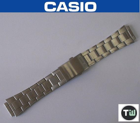Pulseira Aço Inox Casio Aw-80 Aw-82 Usada Bom Estado