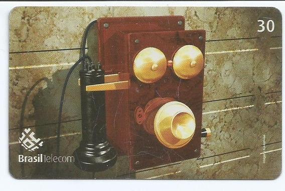 Cartão Telefônico -brasil Telecom 1879 Top Box - Raro!!!
