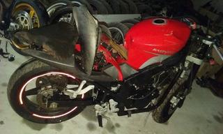Sucata Kasinski Comet 250r Mod 2014 Motocicleta Para Peças