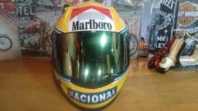 Capacete Ls2 Ff358 Personalizado Senna