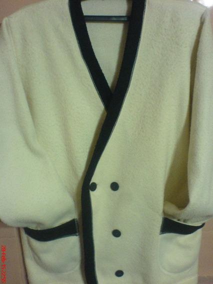 Saco-tipo Blazer De Vestir En Polar Talle Nº 2-hermoso-super Fino Y Chic- Con Algun Detalle-