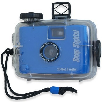 Câmera Subaquática Snap Sights Ss04 Com Filme De 36 Poses