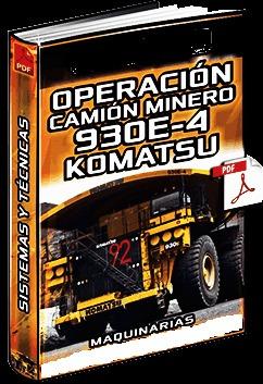 Manual De Operación Camión Komatsu 930e-4
