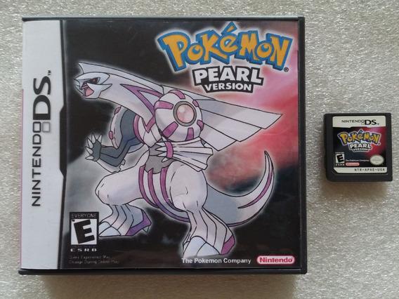 Nds: Pokemon Pearl Rpg Original Americano Na Caixa! Jogaço!