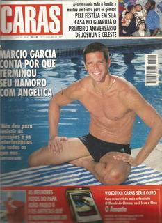 Revista Caras 204/97 - Roberto Carlos - Márcio - Angélica