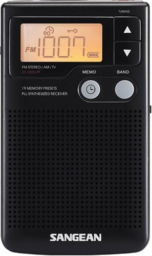 Radio Portatil Sangean Dt-200x Fm-stereo/am Audio