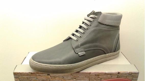 Botas Hombre Careva Cuero Art 326 Zona Zapatos