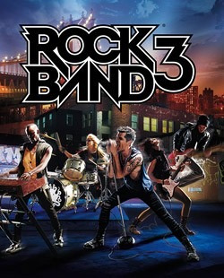 Rock Band 3 - Ps3 - Midia Fisica
