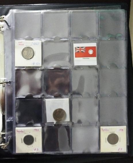 Carpeta Vk Para Coleccion De 500 Monedas Con 500 Cartones
