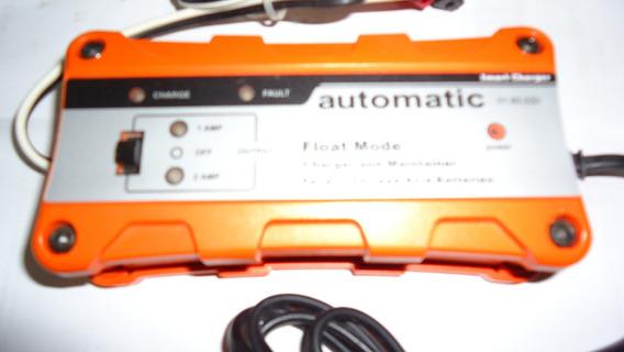 Carregador Inteligente Eletronico Bateria Carro Moto 1a 2a