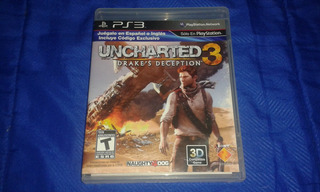 Uncharted 3 Ps3 Disco , Nuevo