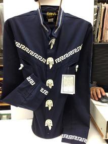 19a41dbd87 Camisa Charra pachuqueña Aplicación Piel Espuela De Oro