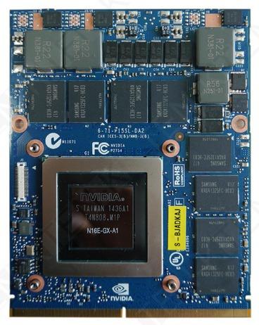 Placa De Video Gtx980m Alienware, Msi, Clevo, Asus