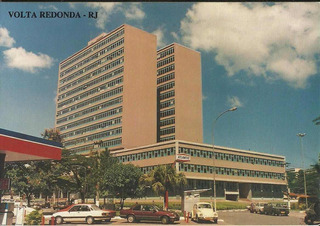Qvr-4442- Postal Volta Redonda, R J- Escritorio Centra C S N
