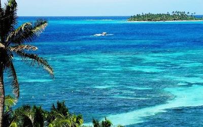 San Andres Isla 9 Personas Vista Al Mar Por Todas Partes.