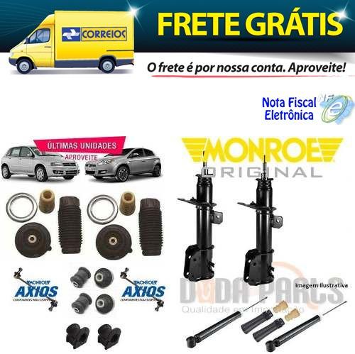 04 Amortecedor Original Monroe + Kit - Fiat Bravo 2010..
