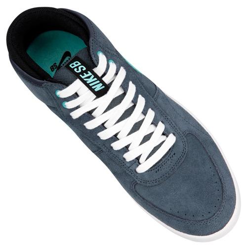 maquinilla de afeitar Cuerpo Personas mayores  Zapatillas Nike Sb Mavrk Mid 3 (gris-plomo+celeste) Mpim H | Mercado Libre