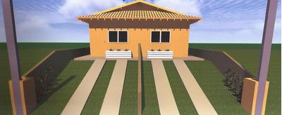 Casa Nova Próximo Ao Centro Aceita Financ Bancário Cod 851