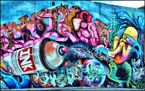 Grafite Foto 60x100cm Poster Arte Para Decorar Sala Quarto