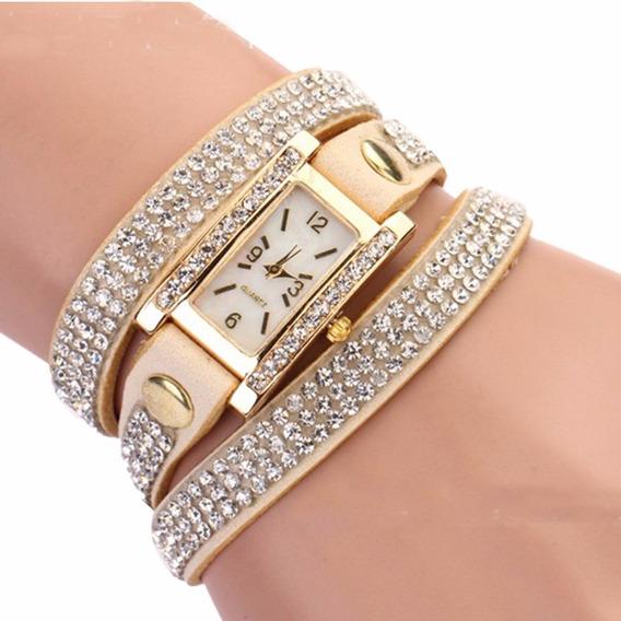 Relógio Feminino Pequeno Estilo Bracelete/pulseira Barato