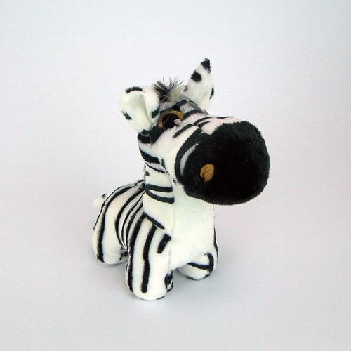 Imagem 1 de 3 de Zebra De Pelúcia Zoião - Bichinho Safari