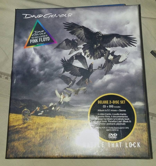 Box Cd + Dvd David Gilmour / Rattle That Lock / Pink Floyd