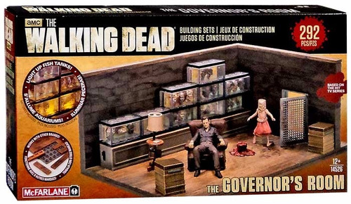 The Walking Dead The Governor's Room (292 Pz Parecido Lego)