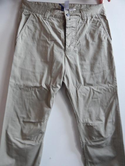 Pantalón Con Puño Hym Talle 30