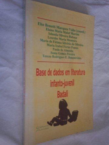 Livro - Base De Dados Em Literatura Infanto-juvenil
