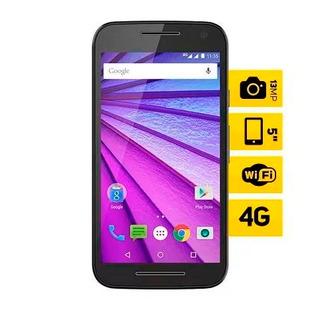Celular Motorola Moto G 3 ª Geração Preto Colors