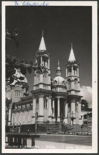 Bahia - Ilhéus Cathedral Ssebastião Postal Antigo