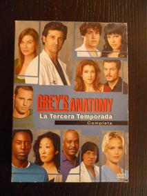 Anatomia De Grey Temporada 3 / Dvd Usado