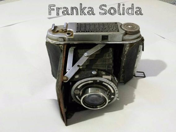 Máquina Câmera Fotográfica Franka Solida - Antiga Rara