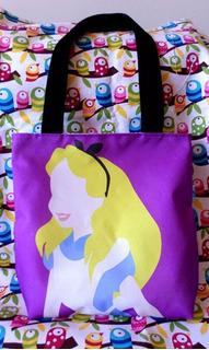 Mini Tote Bag Cartera Alicia En El País De Las Maravillas