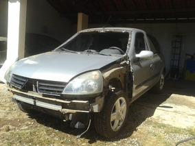 Sucata Renault Clio 1.0 16v Batido, Para Retirada De Peças.