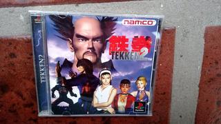 Tekken 2 P/ Ps1 (ps2 Y Ps3) Playstation Orig Japonés. Kuy