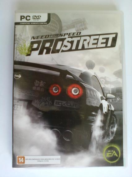 Need For 4 Speed Pro Street Pc Dvd Ea Original Mídia Física