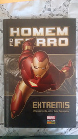 Marvel Deluxe: Homem De Ferro /panini