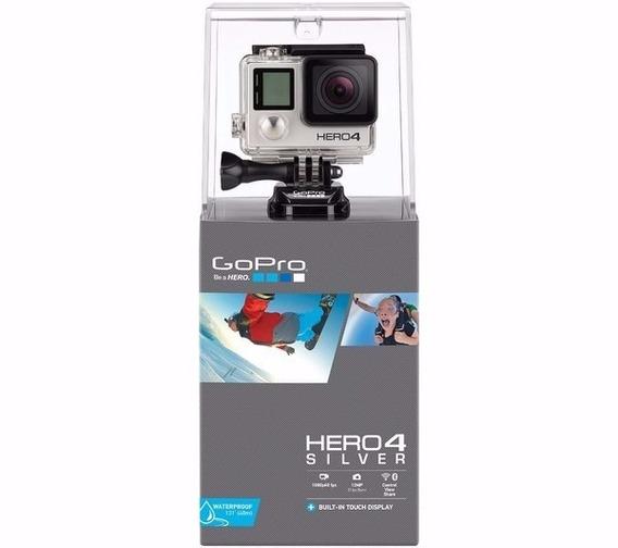 Gopro Hero 4 Silver Tela Lcd Original + Bastao Gopole Gpr7