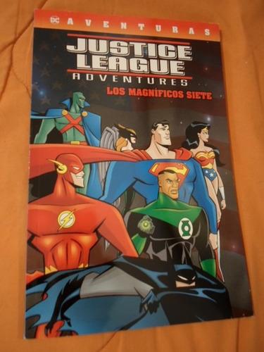 Dc Comics Aventuras Justice League Los Magnificos 7 Latino