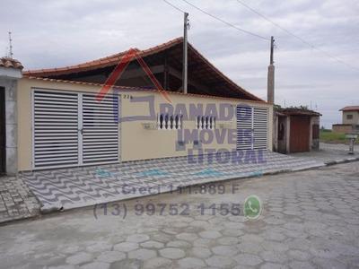Casa Lado Praia Em Mongaguá Nova 2 Dorm, Financie A Sua